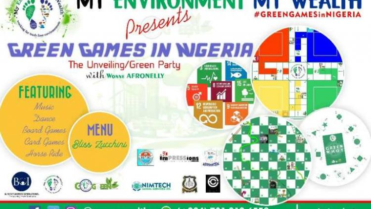Environmentalist Set To Unveil 'GREEN GAMES IN NIGERIA'