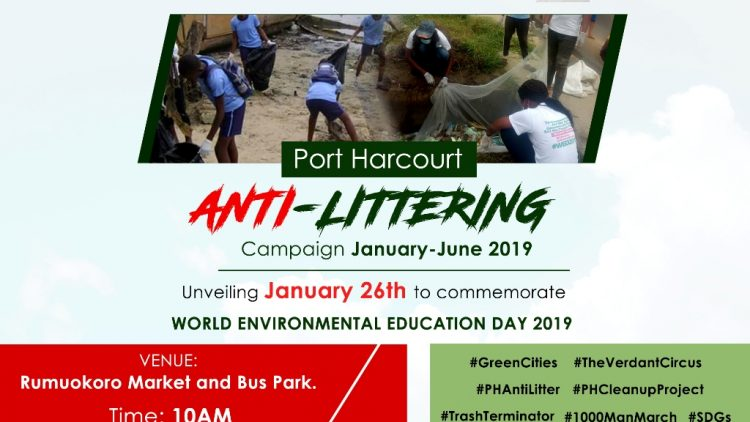 PORT HARCOURT ANTI-LITTERING CAMPAIGN – #WEED2019