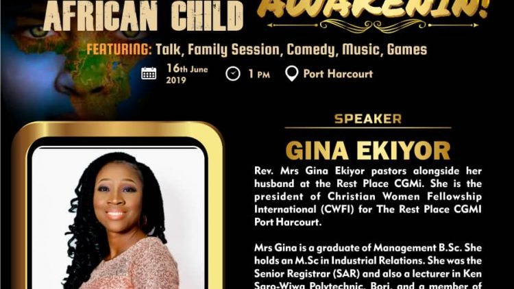REGINA EKIYOR – AWAKENIN International Day of The African Child 2019 Speaker