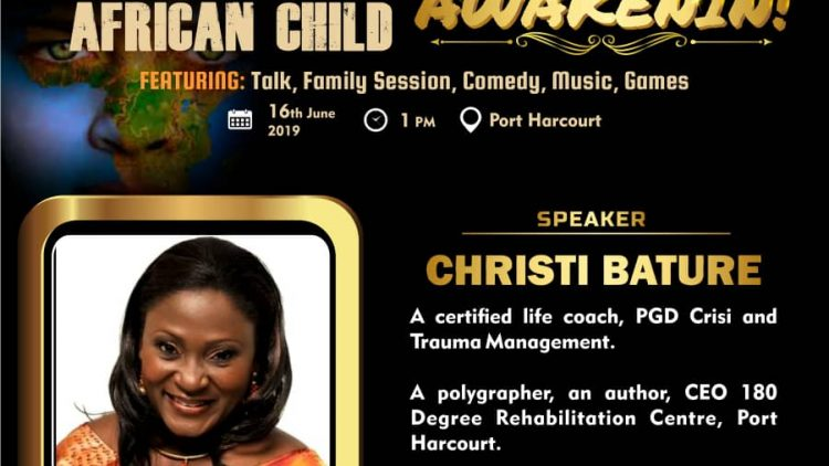 CHRISTIE BATURE – AWAKENIN – International Day Of The African Child 2019 Speaker